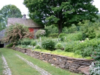 These organic perennial gardens have beautiful plants. Buckland, MA